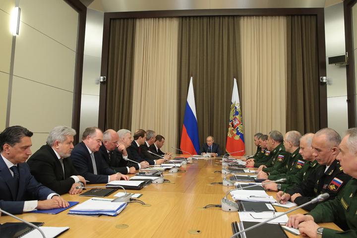 Путин объявил осоздании в РФ оружия нановых физических принципах