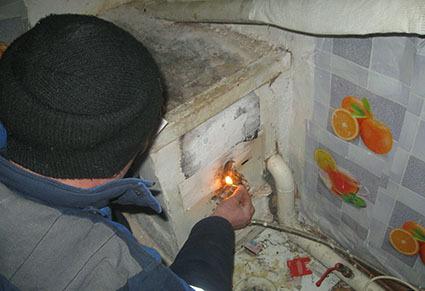 Три человека отравились угарным газом вКарталах