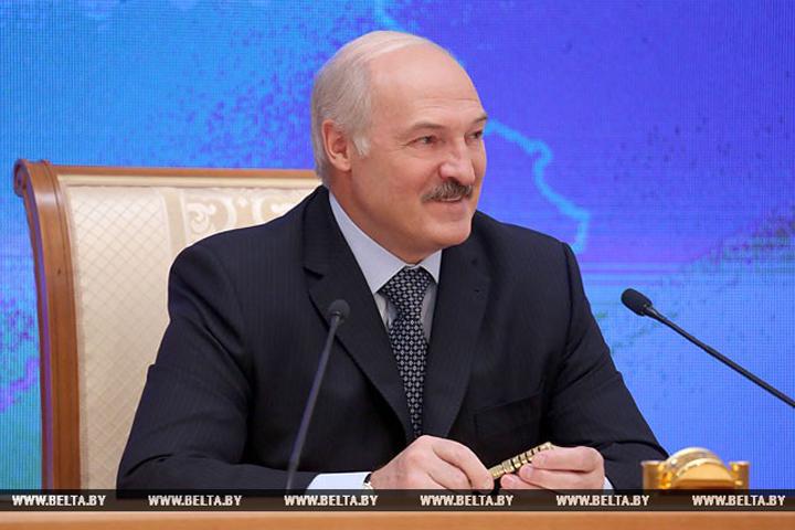 Александр Лукашенко рассказал о своем графике. ФОТО: БелТА