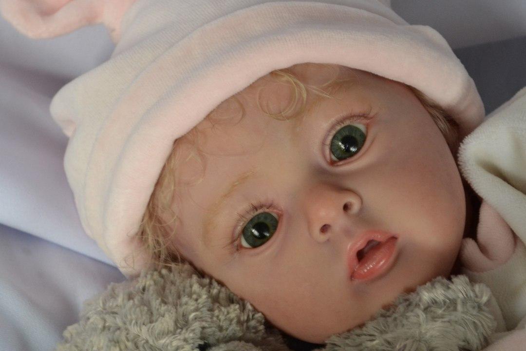 Кукла-реборн Ольги Коновниной. Фото: личный архив.