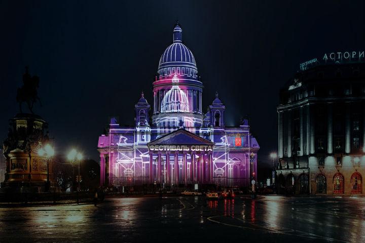 В предстоящем году на«Питер Арене» иЗСД устроят световые шоу