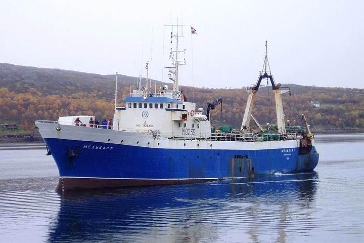 """Береговая охрана Норвегии оказала помощь экипажу мурманского траулера """"Мелькарт"""". Фото: с сайта SeverPost.ru"""