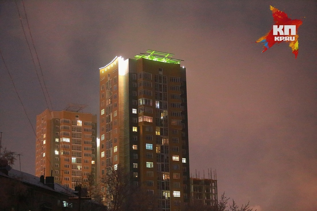 Вжилых кварталах Красноярска обнаружили очень большое количество пыли