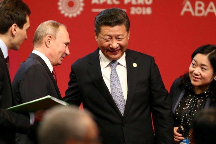 Владимир Путин встретился сСиЦзиньпином и объявил онамерении посетить КНР