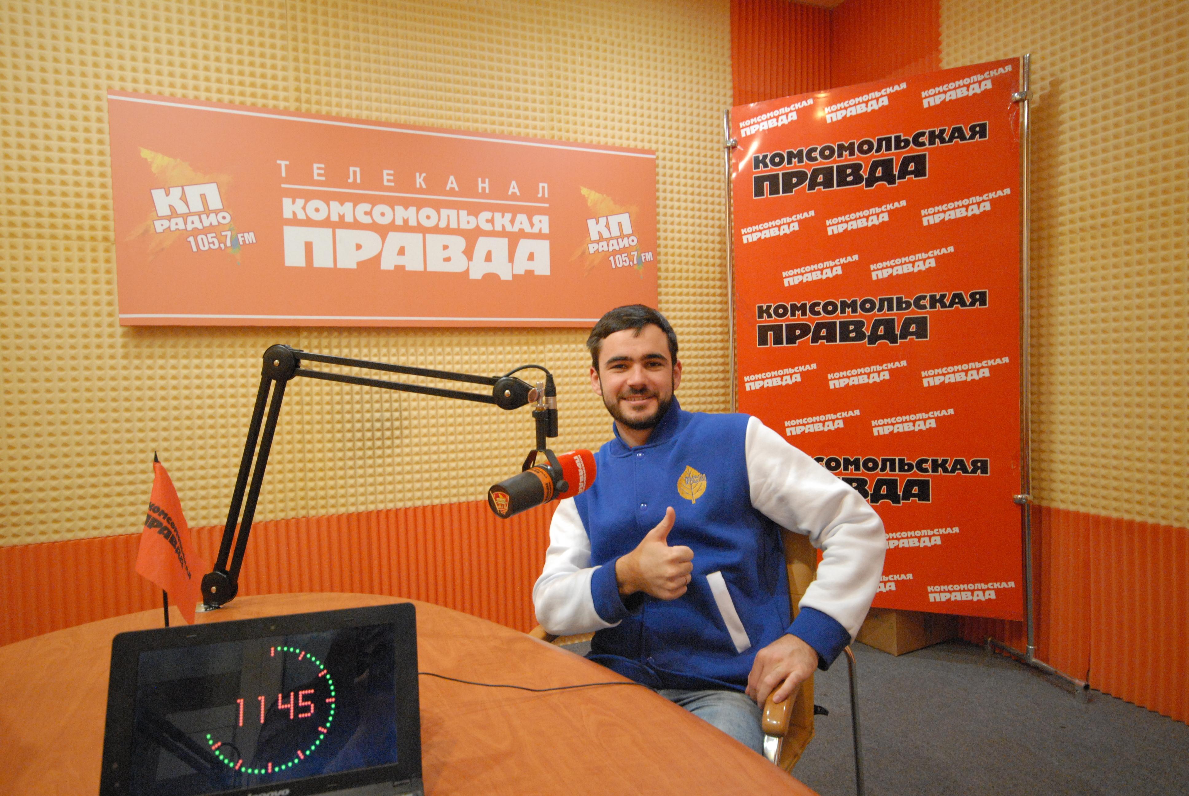 Студент года России Александр Хусаинов