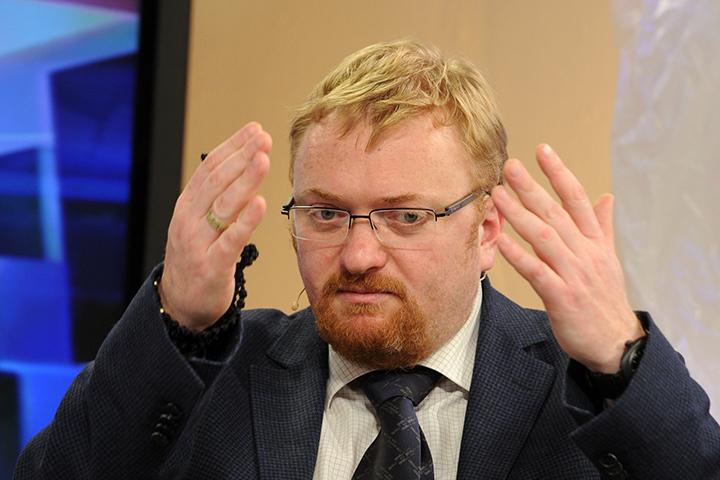 Дело Милонова продолжит жить на федеральному ровне