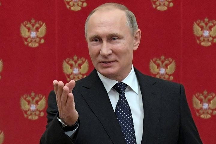 На момент написания этой заметки президента России поддержало 8% пользователей