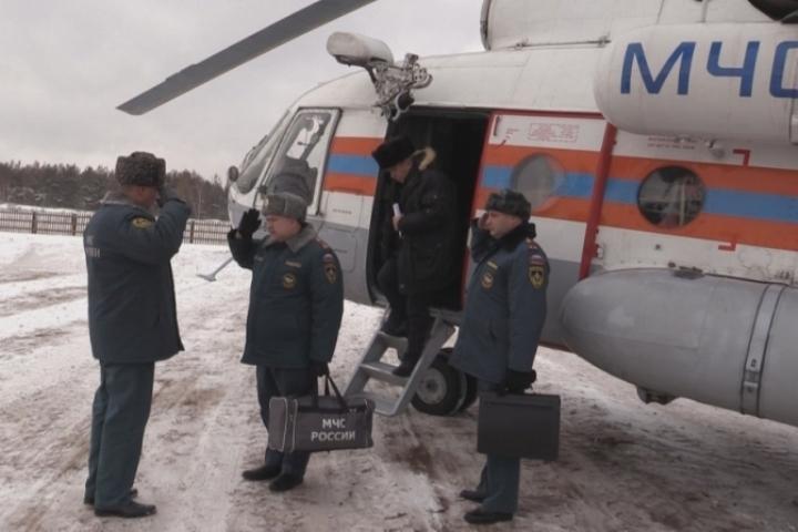 Оперативная группа МЧС вылетела виркутскую Вихоревку, где действует режимЧС