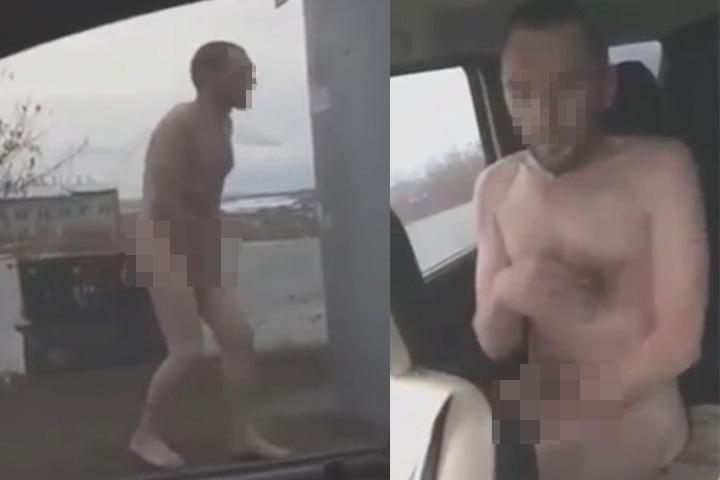 """Казанова едва не отморозил себе ноги. Фото: предоставлено телеканалом """"360""""."""