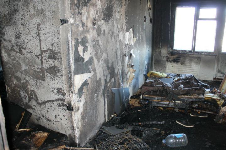 Грудной младенец скончался после пожара в клинике