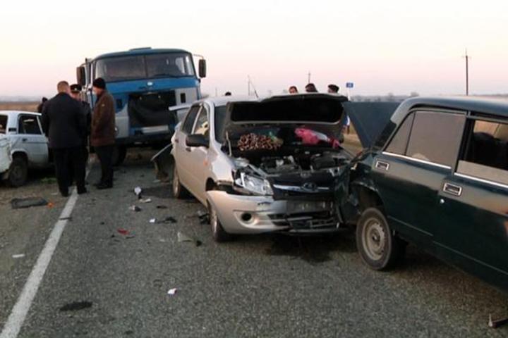 Два человека погибли вмасштабном ДТП вАдыгее
