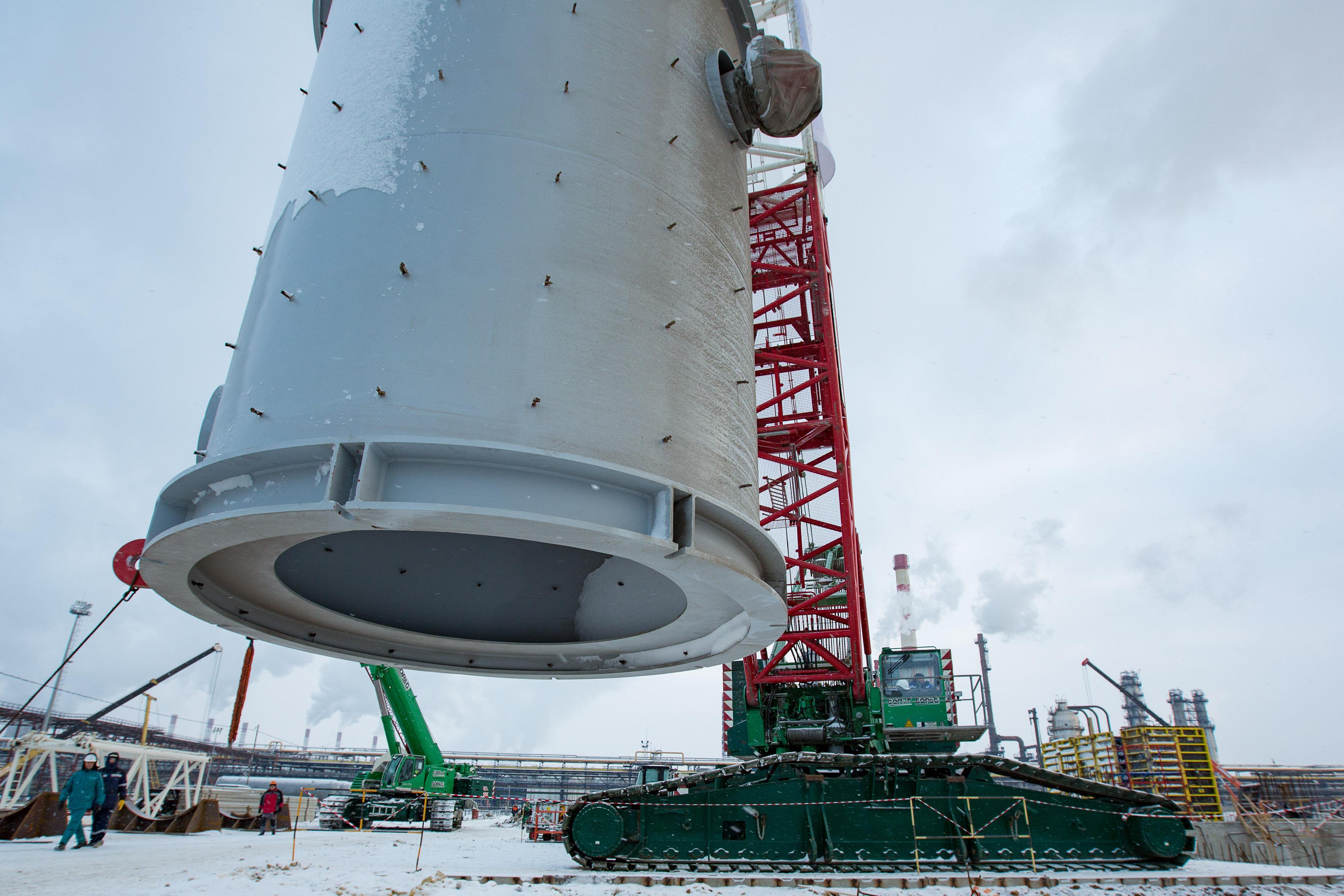 На Московском нефтеперерабатывающем заводе полным ходом идет модернизация