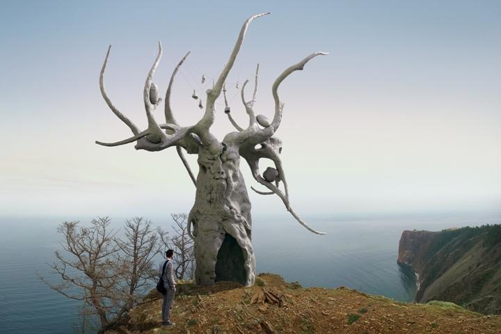 Скульптура Даши Намдакова «Хранитель Байкала» появится на острове Ольхон. ФОТО: предоставлено Арт-фондом Даши Намдакова