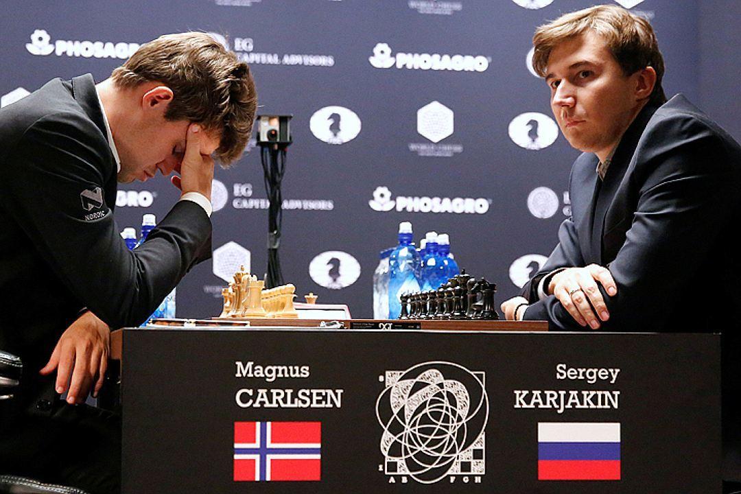 Карякин и Карлсен не смогли выявить победителя
