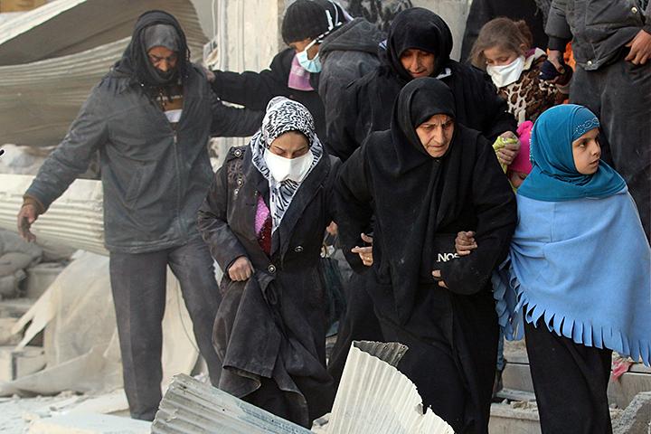 """Долгие годы эти сирийцы служили """"живым щитом"""" в Алеппо для террористов всех мастей"""