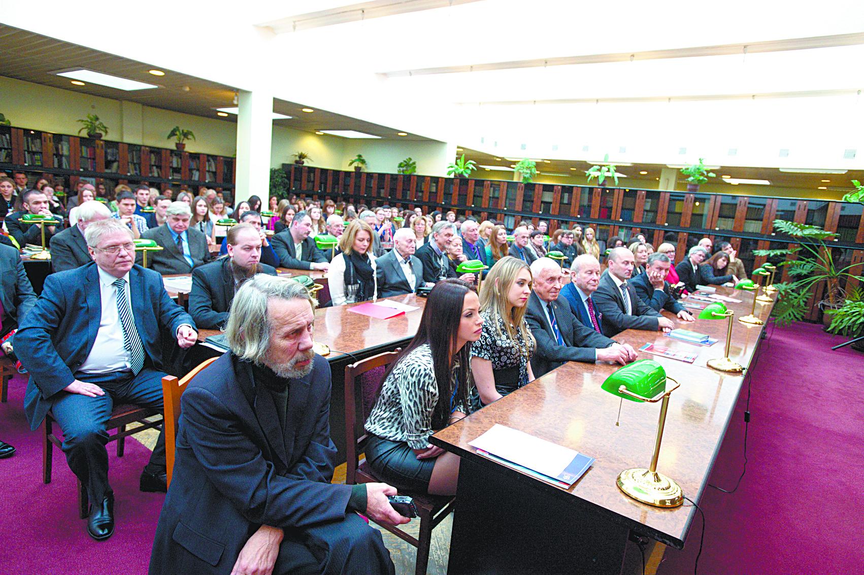 В университетской библиотеке обсуждаются работы Дмитрия Лихачева о культуре