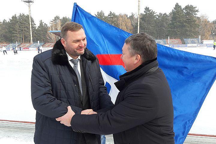 """Фото предоставлено пресс-службой ХК """"Байкал-Энергия."""