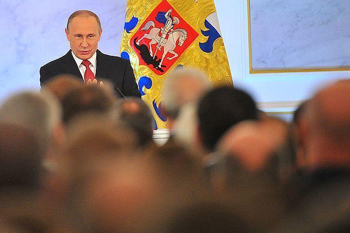 Владимир Путин в очередной раз обратился с посланием Федеральному Собранию