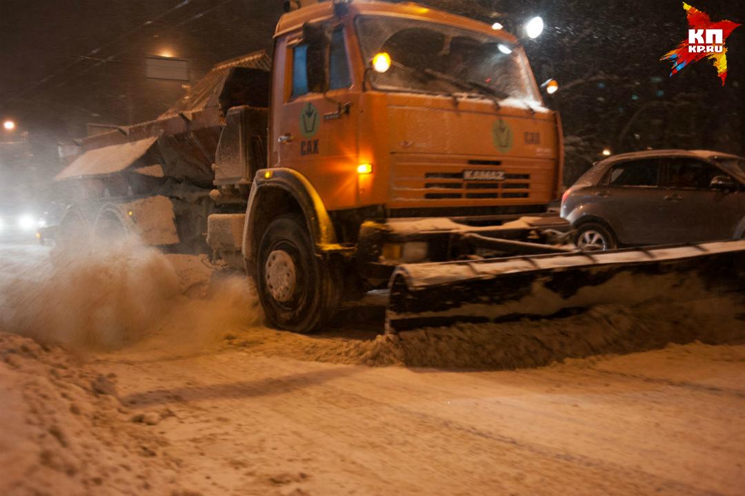 ИзКирова вывезено неменее 60 кубометров снега