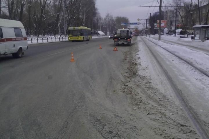 ВПерми под колесами иномарки погибла женщина-пешеход