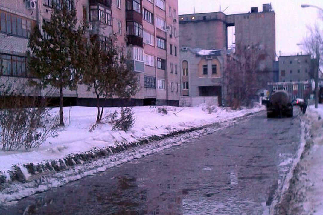 Названа причина потопа наулице Анатолия вцентре Барнаула