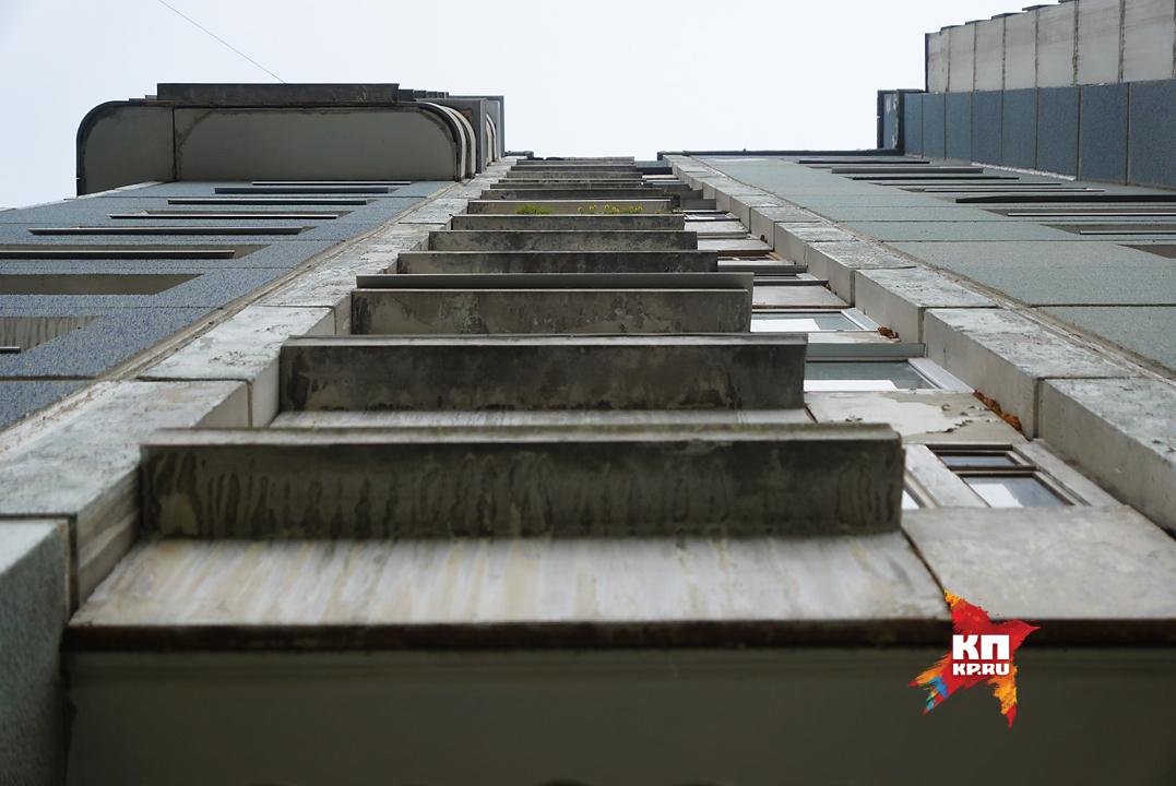 ВПетербурге впроцессе занятий счетвертого этажа колледжа выпала девушка