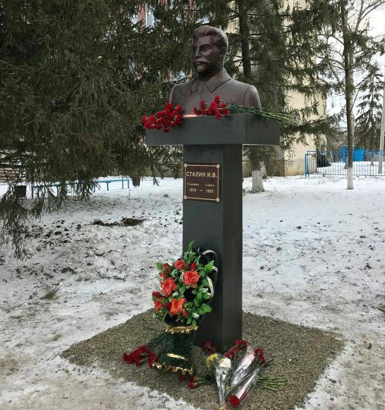 Спрятанный вколодце бюст Сталина отыскали иустановили вРостовской области