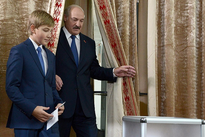 Коля Лукашенко дал первое вжизни интервью