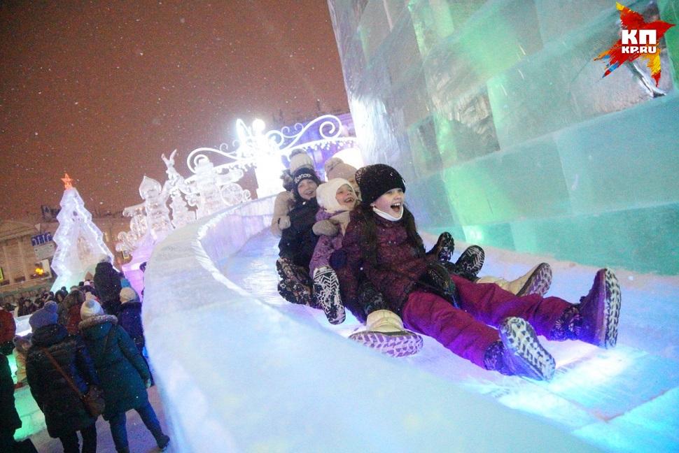 Завтра вЕкатеринбурге откроется ледовый городок