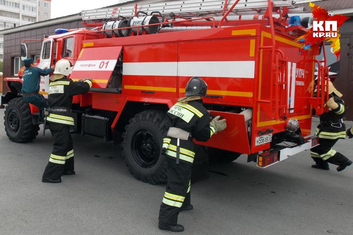 В Тверской области сгорели два мужчины