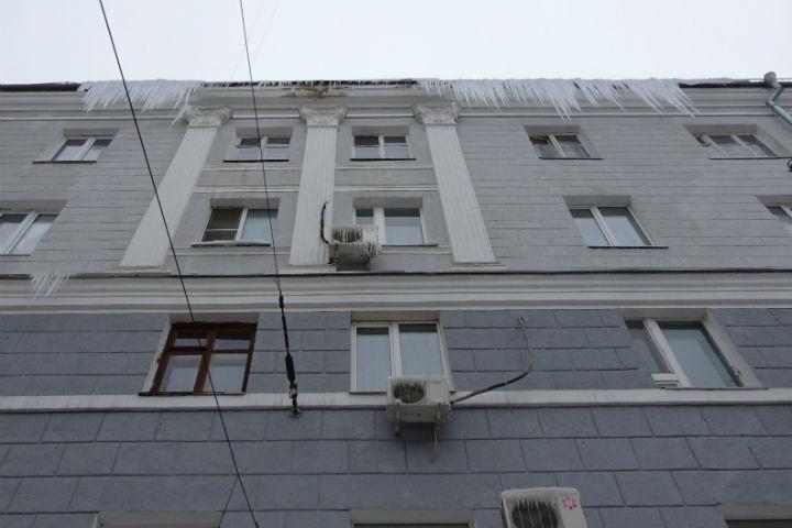 ВВоронеже накажут виновных заналеди накрышах