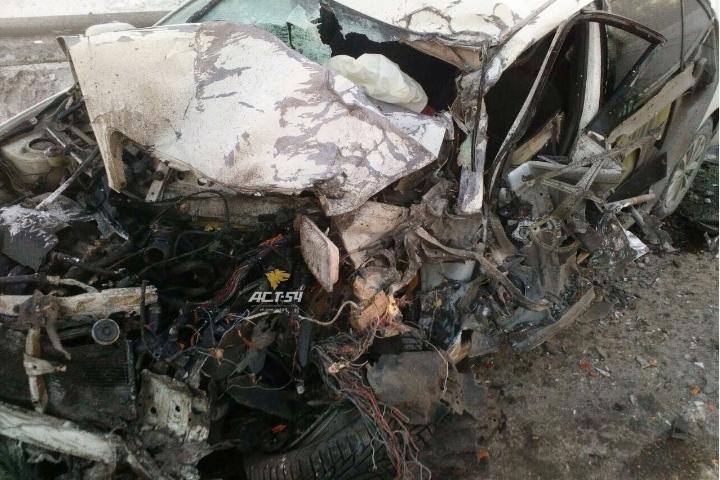 Натрассе вНовосибирской области произошла кошмарная авария