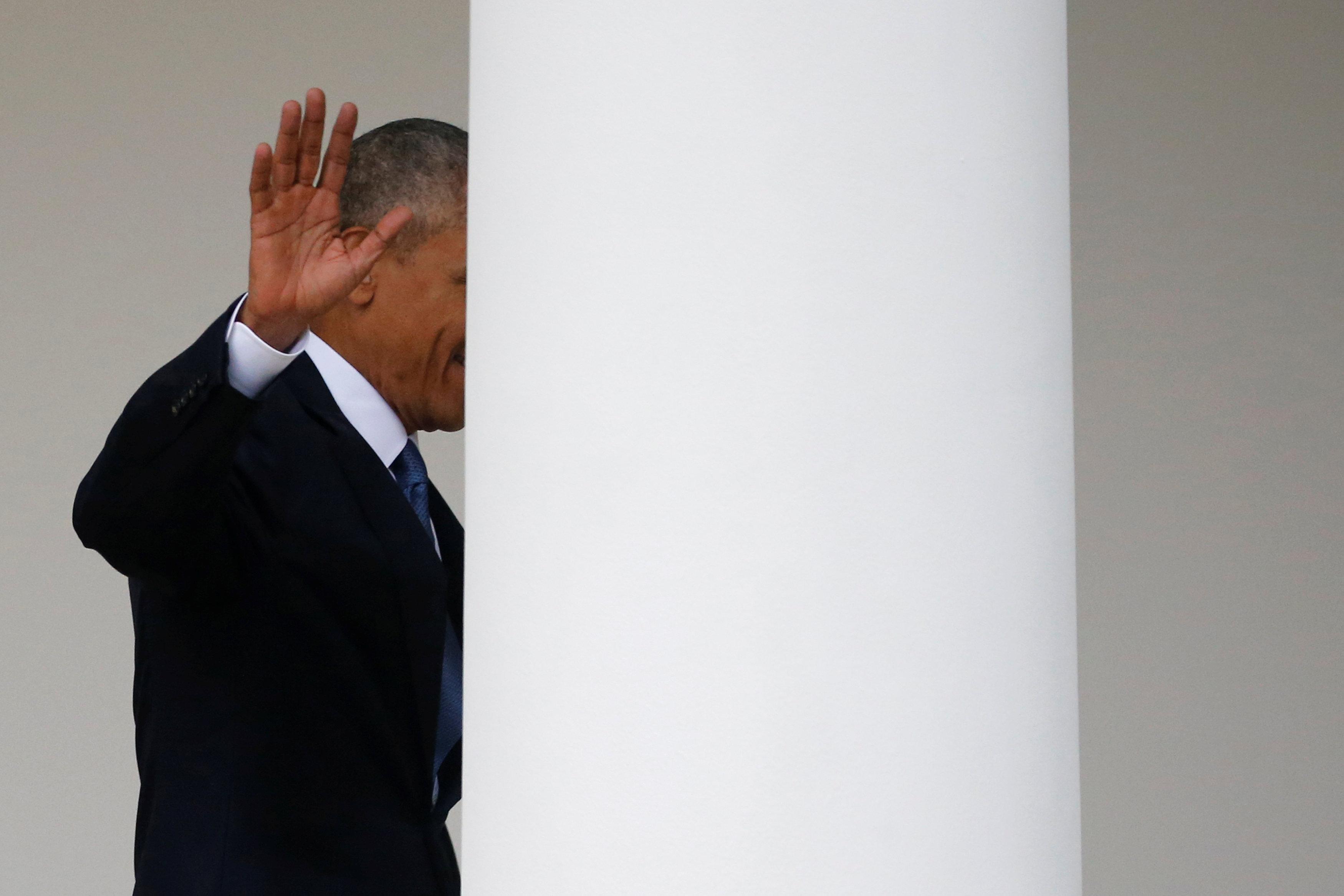 Обама ссемьей отдыхает навилле увладельца Virgin Group