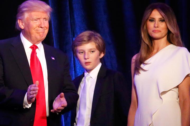 Меланья Трамп переедет вБелый дом не прежде июня