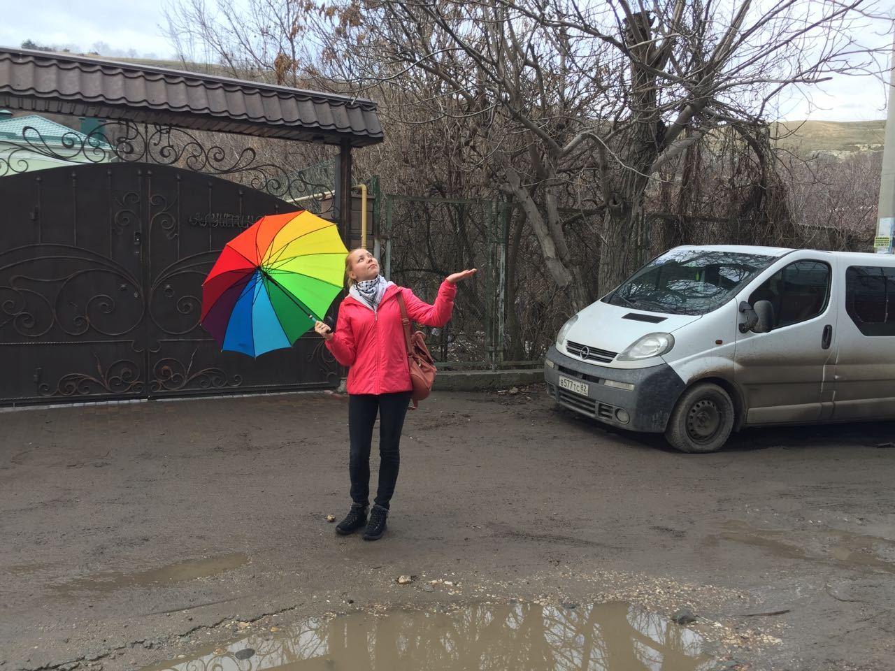 Накрымском полуострове вовторник до +11, кое-где дожди итуман