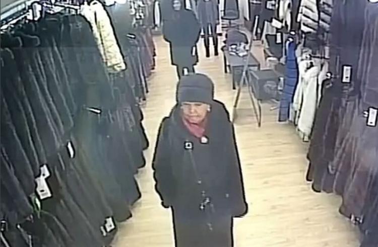 ВПятигорске пенсионерка бесплатно вынесла изсалона шубу