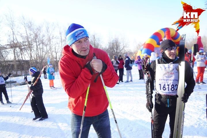 НаЮжном Урале из-за погоды перенесли «Лыжню России»— Замороженный старт