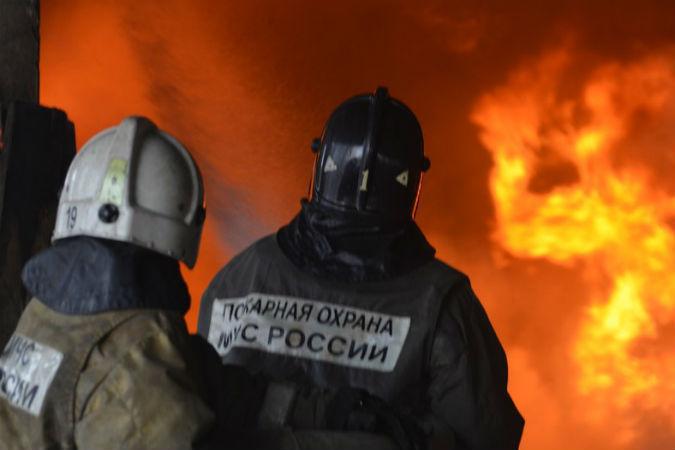 Женщина погибла при пожаре наЛенинском проспекте