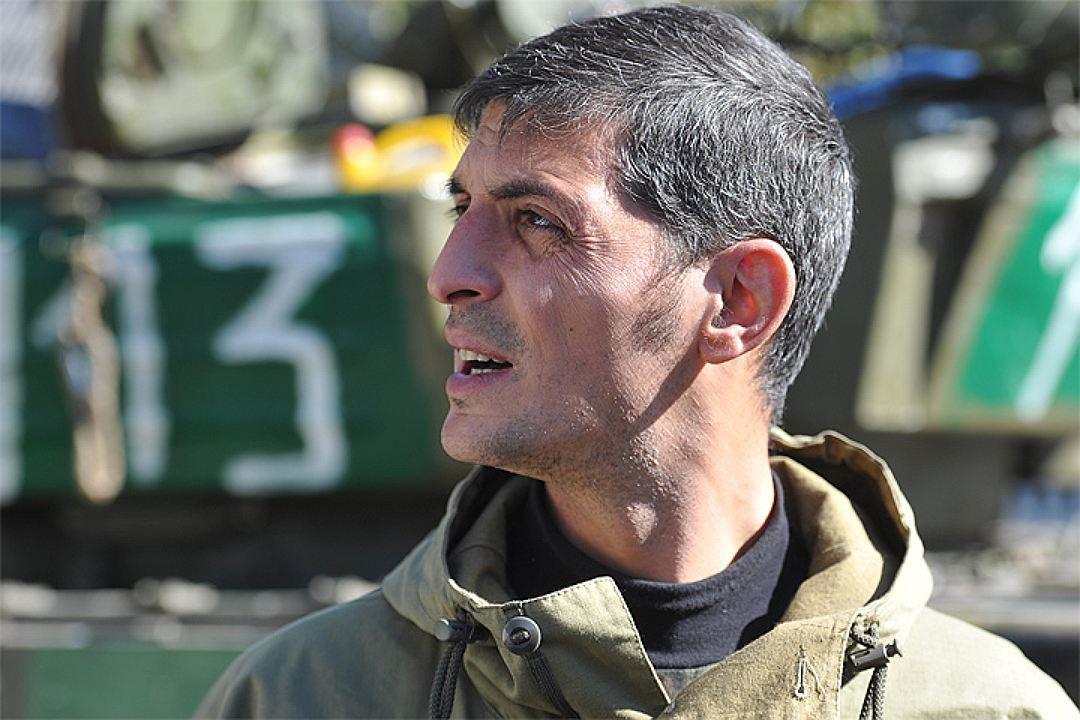 Командира Гиви изобразили награффити вСербии