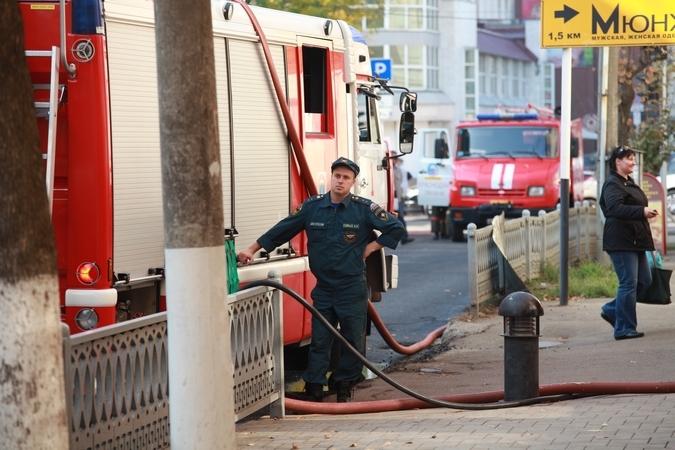 Пожар вкрупном коммерческом центре Краснодара потушили за15 мин., пострадавших нет