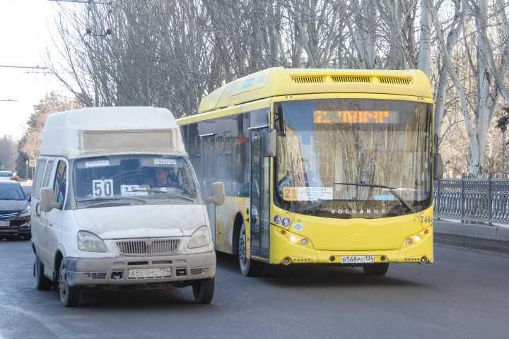 ВВолгограде усилят контроль заработой маршруток