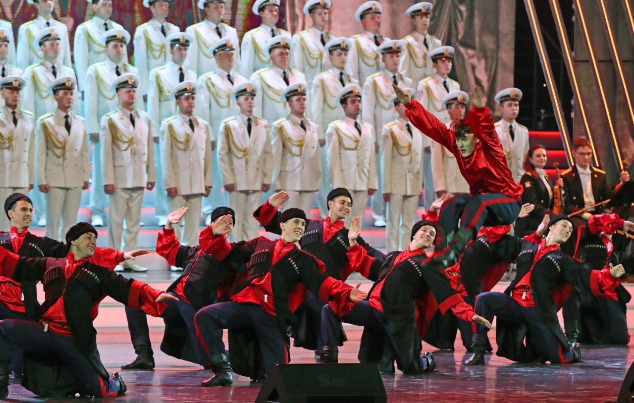 Торжественный концерт сегодня даст новый состав армейского ансамбля имени Александрова
