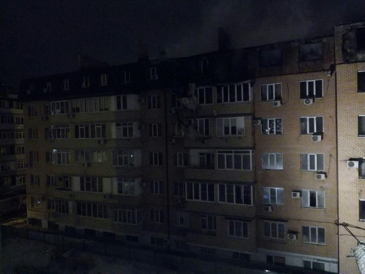 Сгоревший частично дом поул.Прокофьева починят задва месяца