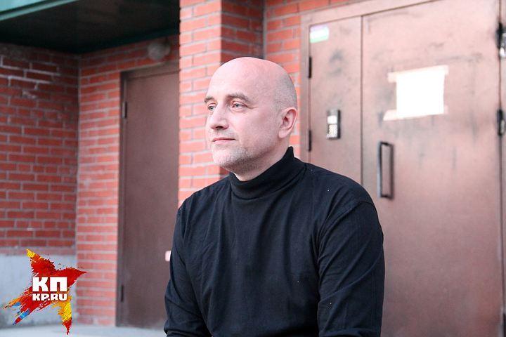 Захар Прилепин сыграл главную роль в кинофильме новосибирского кинорежиссера