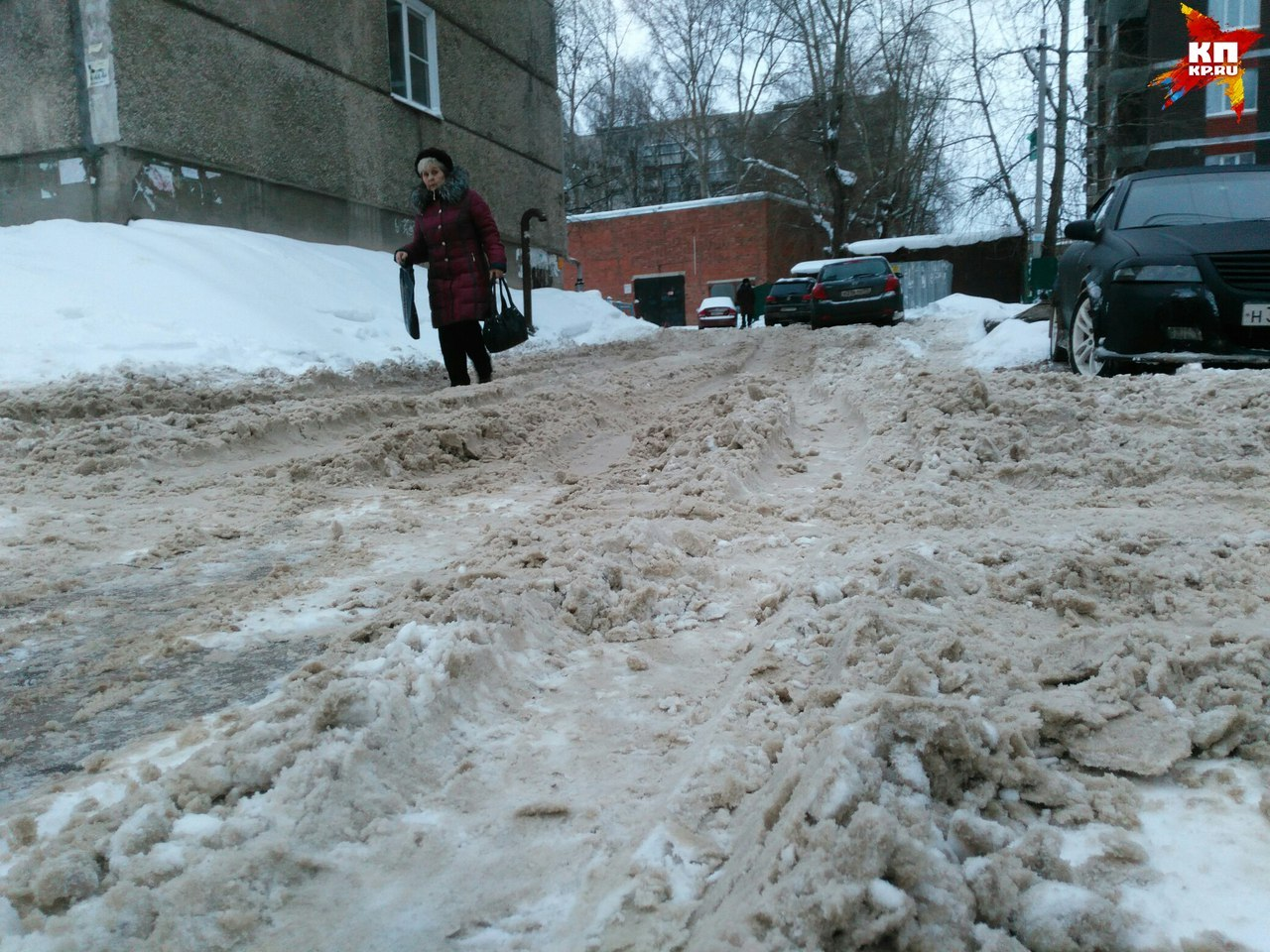 Вконце рабочей недели вПетербурге иобласти ожидают мокрый снег сдождем