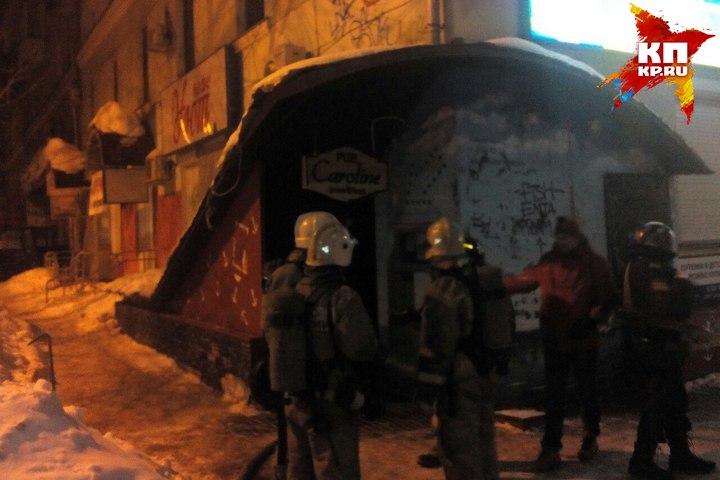 Вцентре Перми дом эвакуировали из-за пожара впивном баре