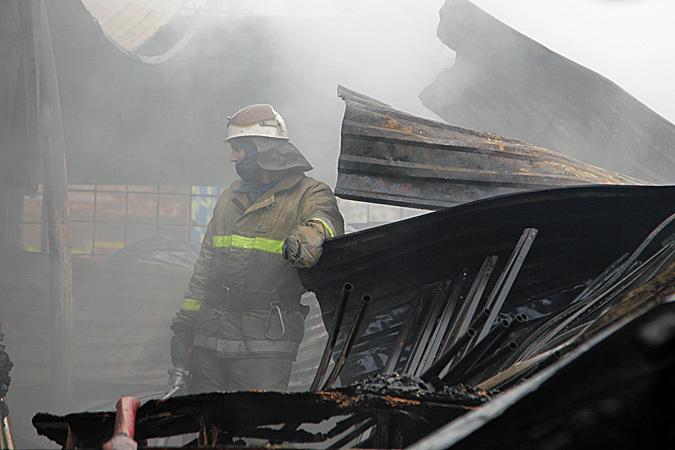 ВСочи произошел пожар втрехэтажном эллинге