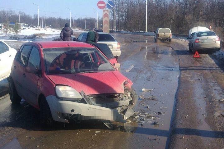 ВУфе повине «бесправного» водителя пострадали два человека