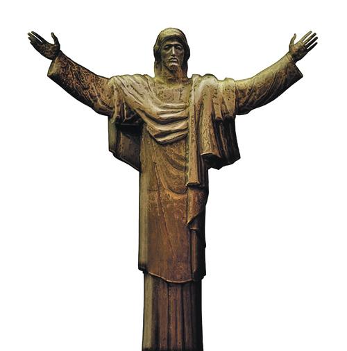 Церетели считает: Христос должен стоять прямо на земле, без постамента. Фото: Управление информации Российской академии художеств