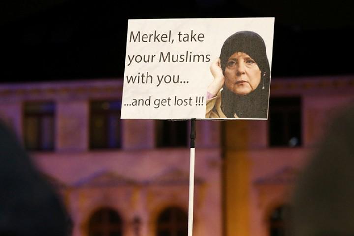 Жители Мюнхена не разделяют позиции своего канцлера в отношении миграционной политики Фото: REUTERS